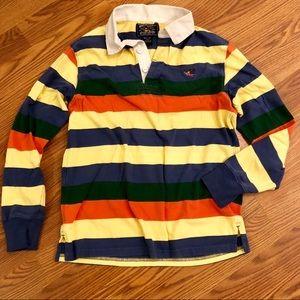 Striped Collar Shirt
